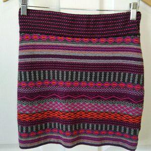 Krimson Klover Flagstaff Skirt Wool/Silk Size S